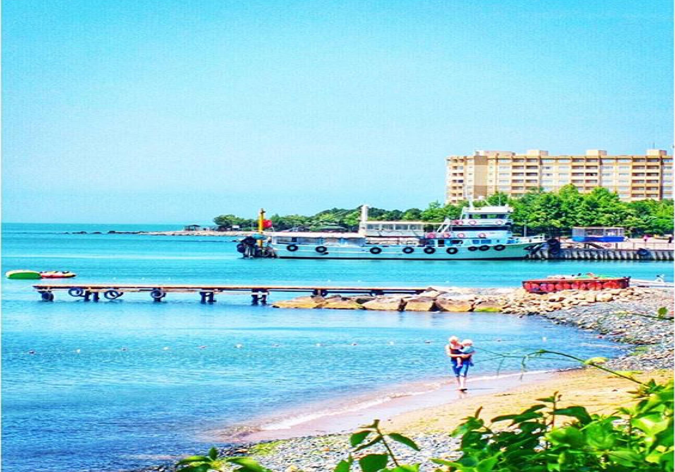 armutlu tatil köyü plaj